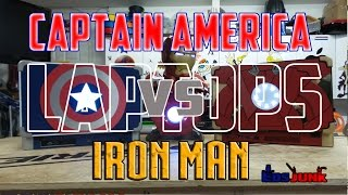 Captain America XBOOK ONE vs Iron Man PLAYBOOK 4