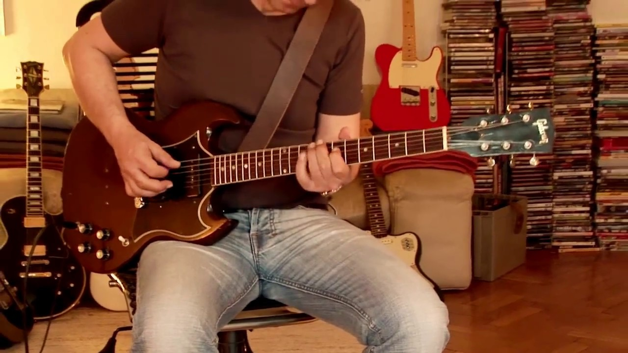 small resolution of  my personal 1968 gibson sg special part1