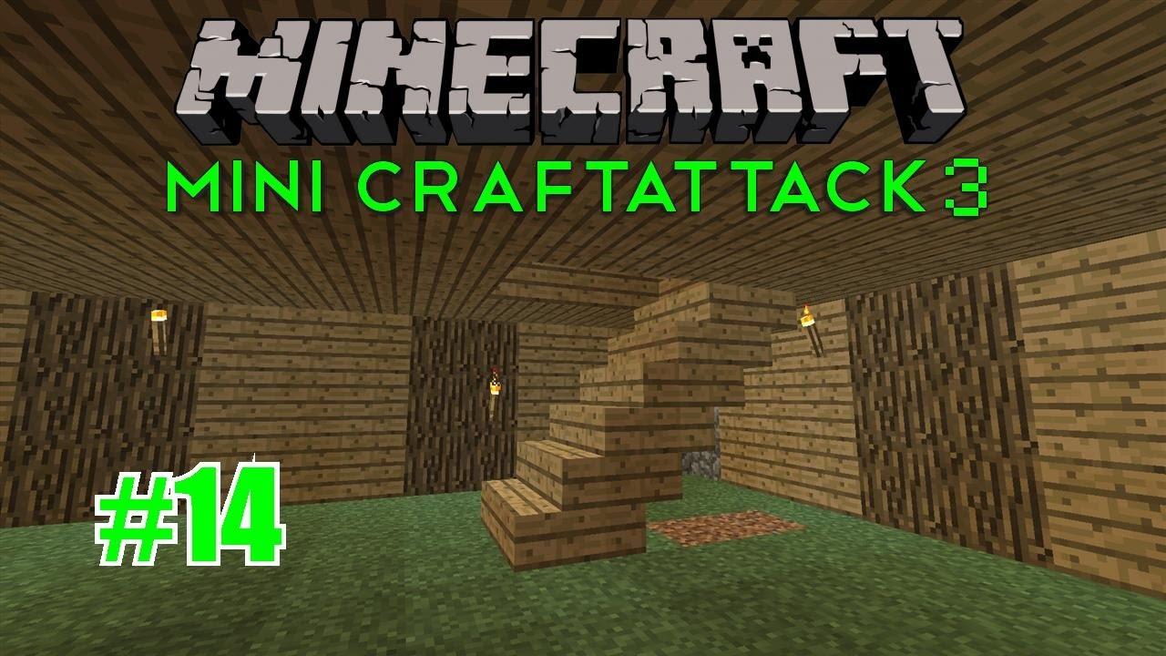 Treppe Nach Oben Bauen Minecraft Mini Craftattack 3 14