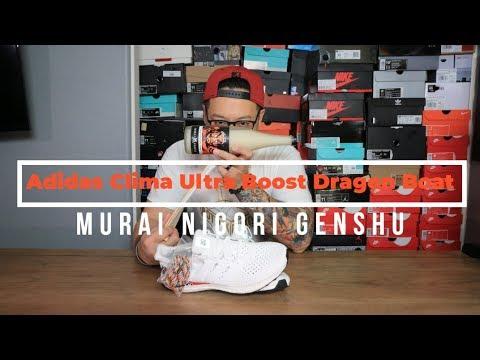 b80f6e6f743 Adidas Clima Ultra Boost Dragon Boat paired with Murai Nigori Genshu ...