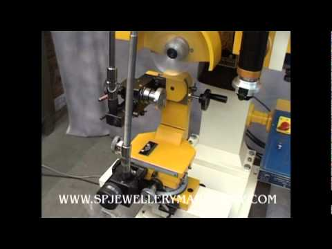 Bangle cutting machine jewellery making machine faceting