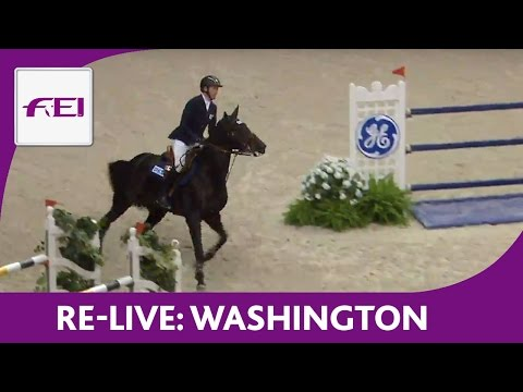 Re-Live | Washington | Longines FEI World Cup™ Jumping 2016/17 NAL | Speed Final