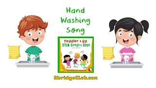 Hand Washing Song - AbridgeClub.com - Bonus FREE Download - Toddler STEM Songs & Steps Music CD