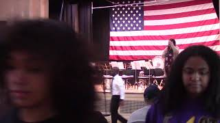 East High School Upper School Band and Upper and Lower School Combined Choir Perform for Veterans