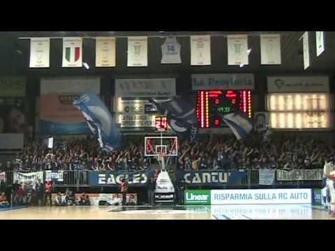 Cantù vs Milano l'ingresso dei tifosi ospiti