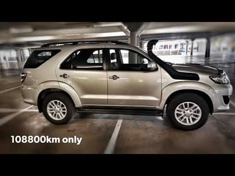 Toyota Fortuner 3.0d4d At MotoXpress Menlyn