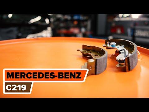 Wie Mercedes Benz Cls C219 Handbremsbel 228 Ge Wechseln