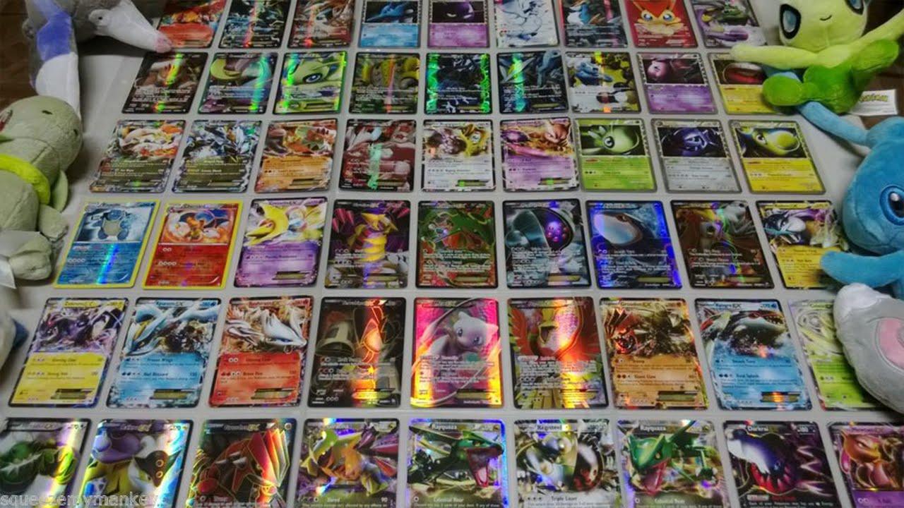 La mia collezione di carte pokemon ex e ex full art youtube - Carte pokemon ex ...