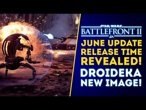 New Droideka on Theed Image! June Update Time Revealed + Hero News! - Star Wars Battlefront 2 Update