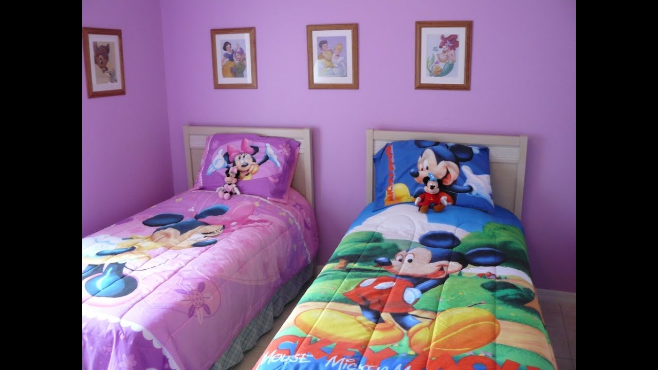 Mickey Mouse Bedroom Decor | Mickey Mouse Room Decor For Toddlers   YouTube
