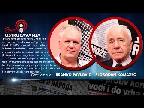BEZ USTRUČAVANJA - Branko Pavlović i Slobodan Komazec: Što god ova vlast pipne to i uništi!