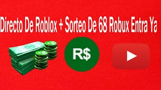 Direkt von Roblox + Unentschieden 68 Robux Jetzt eingeben!!