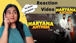 Reaction on Haryana Anthem (Official Video) | Surender Sajuma | Latest Haryanvi Song
