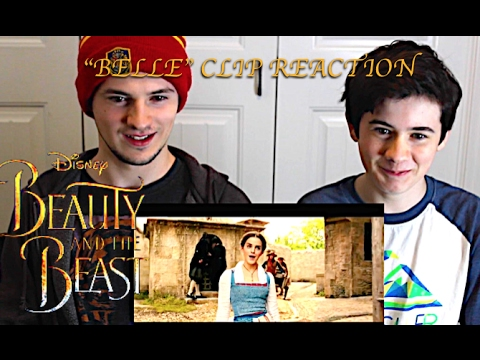 """Belle"" Clip Disney's Beauty and the Beast: Our Reaction"