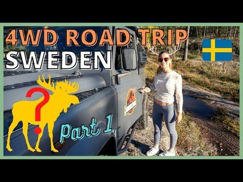 SWEDEN 4WD ROAD TRIP (PART 1) | Overland Defender Camper | Travel series