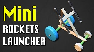 How to make Mini rockets | Mini Missile launcher