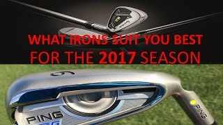 Ping G Iron and the Taylormade 2017 M2 Iron