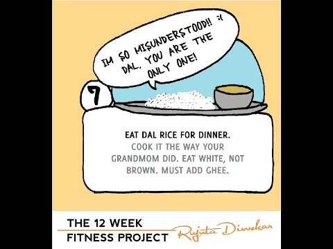 The fitness project 2018 - Week 7 guideline - Rice dal for dinner