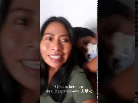 Yalitza Aparicio felicita a Sebastian Yatra por su cumpleaños