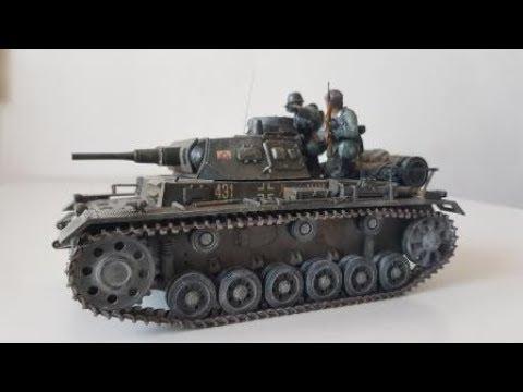 Фотоотчёт о сборке модели Звезда 3549 - Самоходка Штурмгешутц III (StuG III Ausf.F)