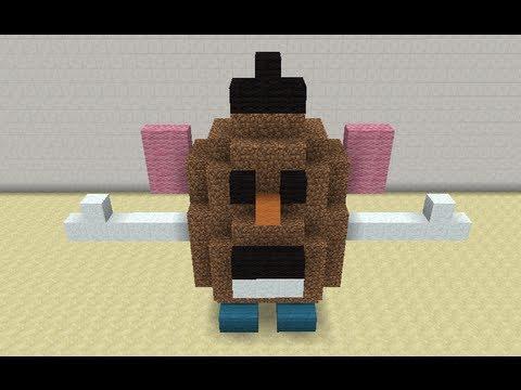 Build A Head >> Mr. Potato Head in Minecraft - YouTube