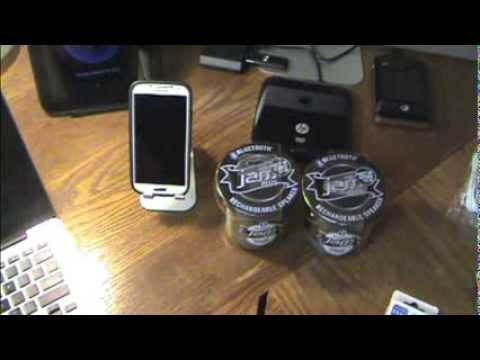 HMDX Jam Plus Bluetooth Stereo Portable Speakers Unboxing and Review