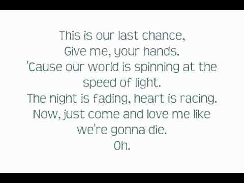 Ke$ha -Animal Switch Remix- Lyrics On Screen