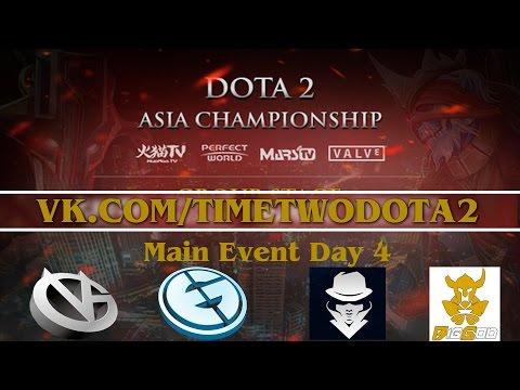 Live Весь стрим 08.02.2015 - Dota2 Asian Championship 2015 Main Event - 동영상
