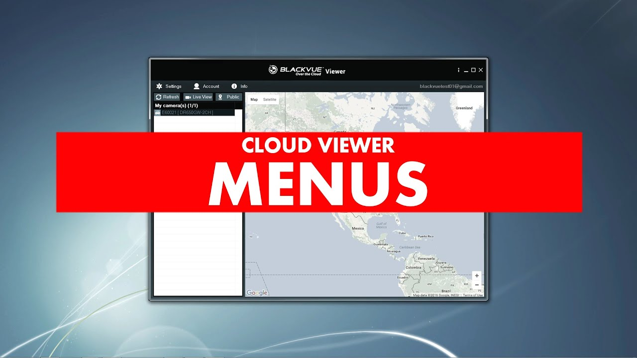 BlackVue Windows Viewer (v2 10) - BlackVue
