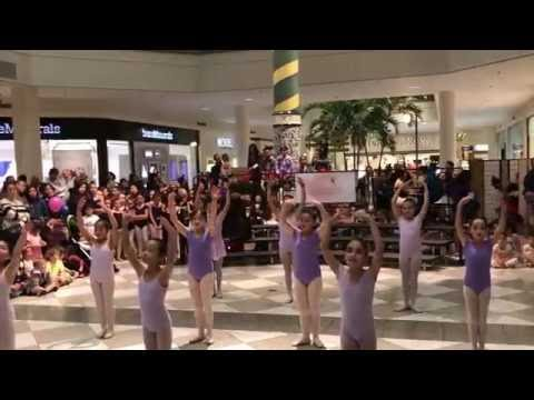 WCDC Ballet 2 Holiday Performance At Hillsdale Shopping Center In San Mateo