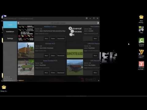 Farming Simulator 2015,  Mod Manager