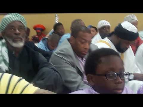 Watch Imam Ceesay's khutbah at the Muslim Center in Detroit after the Eid