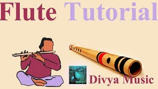 Bansuri Bamboo Flute Indian Woodwind learning lessons online Skype free videos Indian Flute training