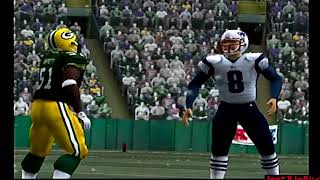 Frozen Night Game | NE @ GB | Madden NFL 06 CPU Games