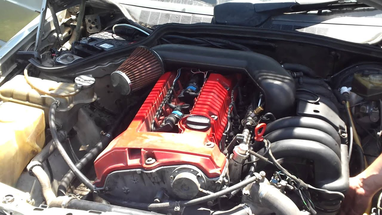 Mercedes 190e 2 8 24v M104 Youtube