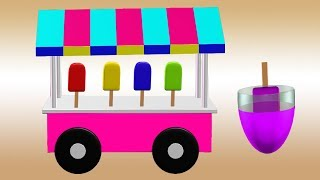 Ice Cream Colors Video For Kids || Learn Ice Creams || Nursery Rhymes