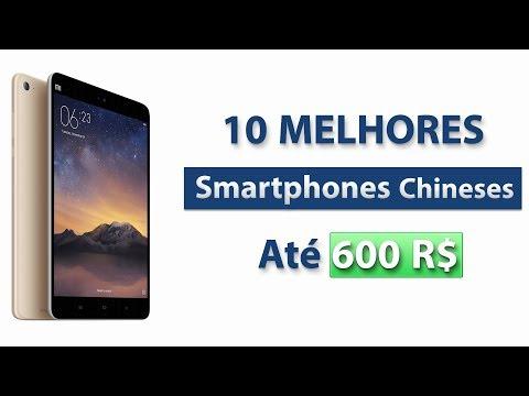 TOP 10 MELHORES Smartphones Chineses Por Até de 600 Reais