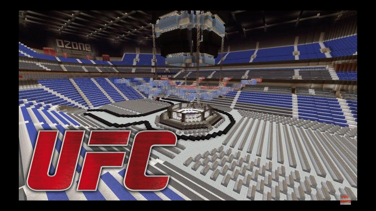 Minecraft Ufc Arena 2016