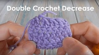 How to Double Crochet Together (Decrease)