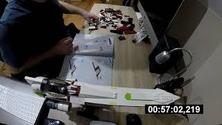LEGO STAR WARS UCS 10215 OBIWAN'S JEDI STARFIGHTER SPEED BUILD