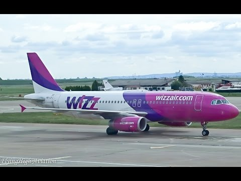 {Full HD} *TRIP REPORT* Wizz Air Airbus A320 Belgrade (BEG) - Memmingen (FMM)