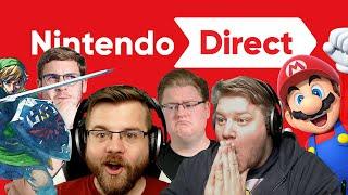 React: Neue Mario & Zelda-Spiele in der Nintendo Direct