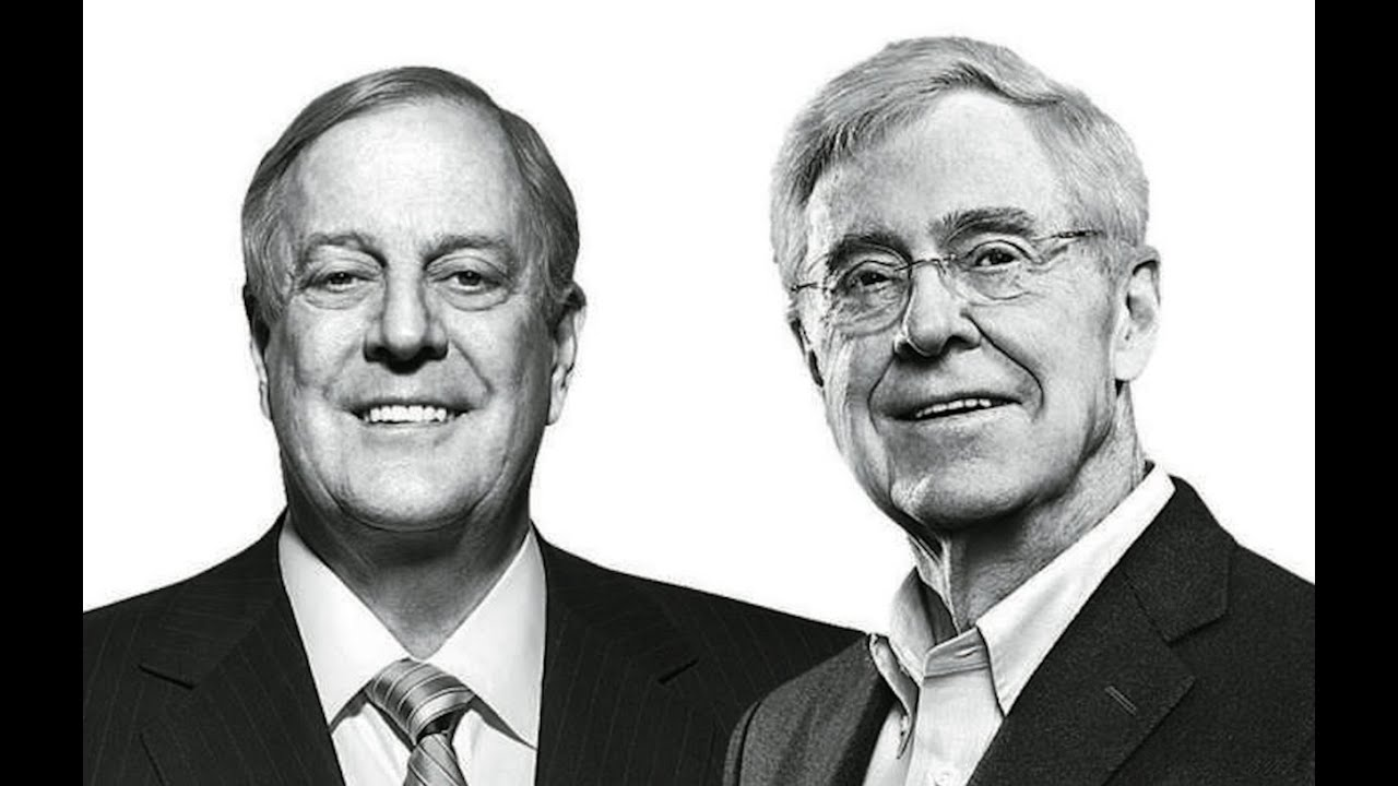 Image result for Photos of the koch brothers
