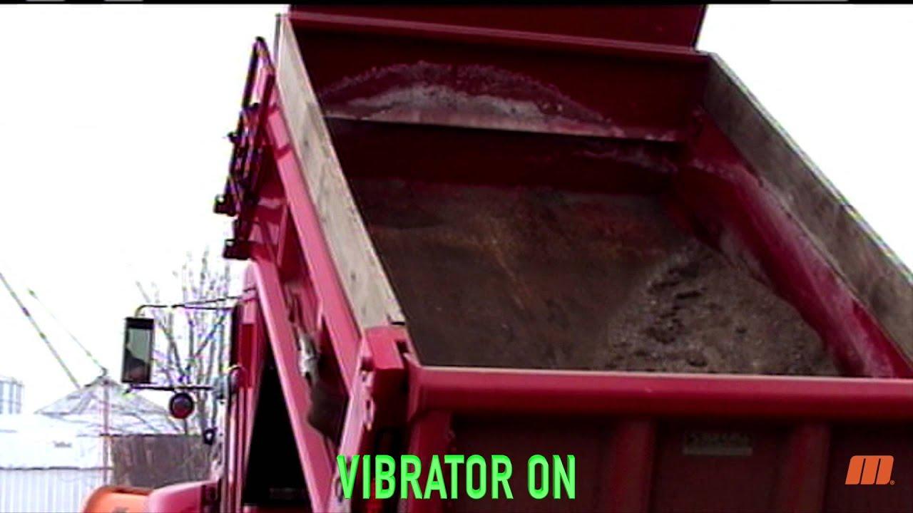 Industrial truck vibrator