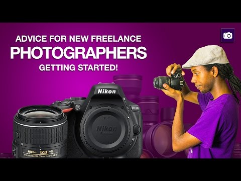 Advice for New Freelance Photographers