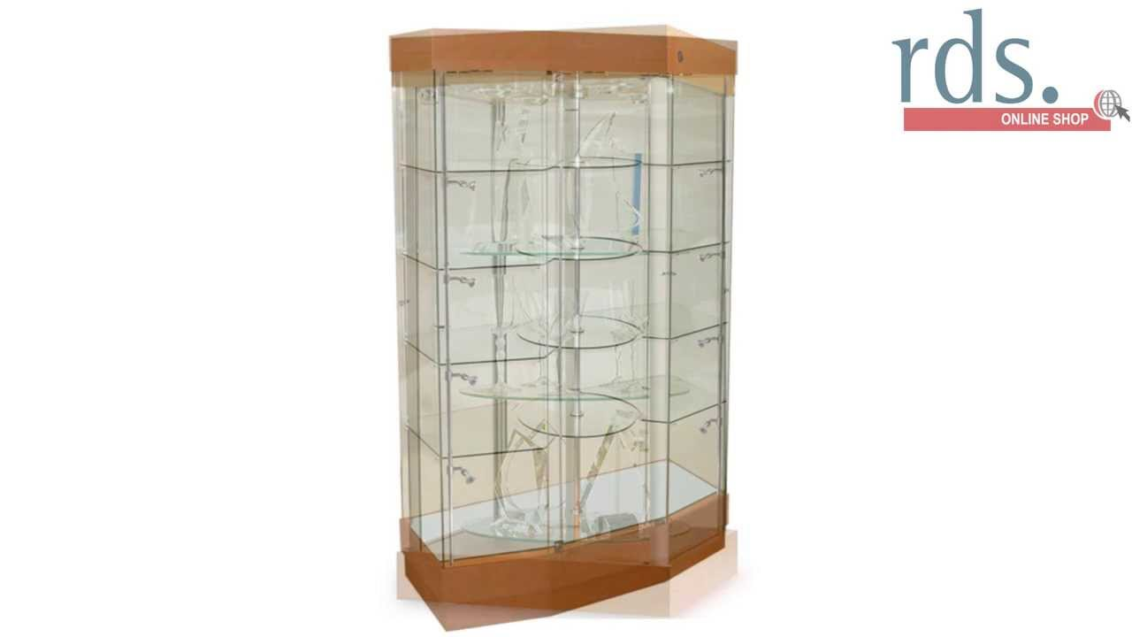 Superieur Rotating Display Cabinets And Glass Showcases
