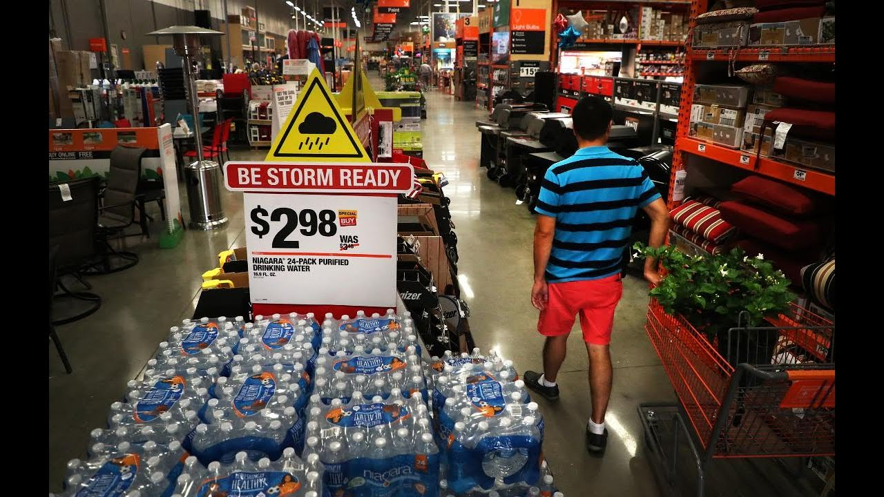 Home Depot gears up for tax free week on Hurricane supplies