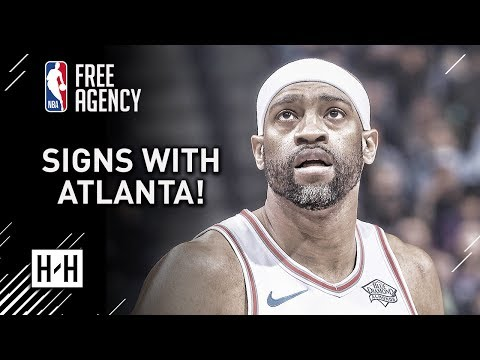 Vince Carter Signs With Atlanta Hawks | Full Highlights vs Hawks from 2017-18 NBA Season