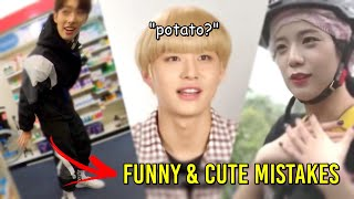 KPOP FUNNY MOMENTS SPEAKING ENGLISH (BLACKPINK, BTS, NCT127...)