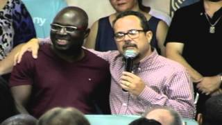 Testemunhos e Palavra com o Pr. Anatole Sobogo
